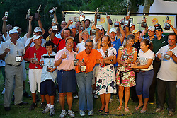 Premiação dos vencedores do XIII Aberto do Belém Novo Golf Club.  FOTO: Jefferson Bernardes/Preview.com