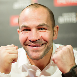 20131211: SLO, Boxing - Press conference of Slovenian professional boxer Dejan Zavec