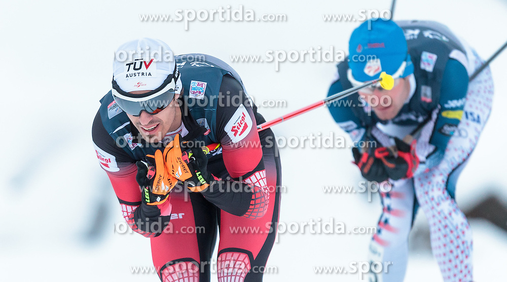 05.12.2015, Nordic Arena, NOR, FIS Weltcup Nordische Kombination, Lillehammer, Langlauf, im Bild Lukas Klapfer (AUT) // Lukas Klapfer of Austria during Cross Country Competition of FIS Nordic Combined World Cup at the Nordic Arena, Lillehammer, Norway on 2015/12/05. EXPA Pictures © 2015, PhotoCredit: EXPA/ JFK