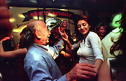 """Yorgos"" one of the last Greek night clubs left in Istanbul, attracts a lot of Turkish people who dance on the sounds of Greek and Turkish music..ISTANBUL, Androniki Christodoulou/WorldPictureNews"