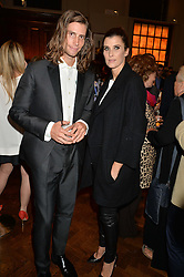 SEAN SOULZA and PRINCESS ROSARIO OF BULGARIA at a party to celebrate the launch of the Maison Assouline Flagship Store at 196a Piccadilly, London on 28th October 2014.  During the evening Valentino signed copies of his new book - At The Emperor's Table.