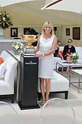 The MARCHIONESS OF MILFORD HAVEN at the Jaeger-LeCoultre Gold Cup Polo Final held at Cowdray Park Polo Club, Midhurst, West Sussex on 19th July 2015