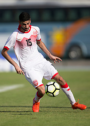 AUBAGNE, FRANCE - Tuesday, May 30, 2017: Bahrain's Ali Alkarrani Hasan in action during the Toulon Tournament Group B match between Bahrain and Ivory Coast at the Stade de Lattre-de-Tassigny. (Pic by Laura Malkin/Propaganda)