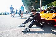 August 25-27, 2017: Lamborghini Super Trofeo at Virginia International Raceway. Austin Versteeg, DXDT Racing, Lamborghini Dallas, Lamborghini Huracan LP620-2
