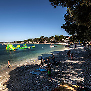 Medulin 2015 07 11 Kroatien<br /> Beach mellan Pula och Medulin<br /> ----<br /> FOTO : JOACHIM NYWALL KOD 0708840825_1<br /> COPYRIGHT JOACHIM NYWALL<br /> <br /> ***BETALBILD***<br /> Redovisas till <br /> NYWALL MEDIA AB<br /> Strandgatan 30<br /> 461 31 Trollh&auml;ttan<br /> Prislista enl BLF , om inget annat avtalas.