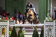 Kevin Staut - Quismy des Vaux<br /> Saut Hermes 2013<br /> © DigiShots