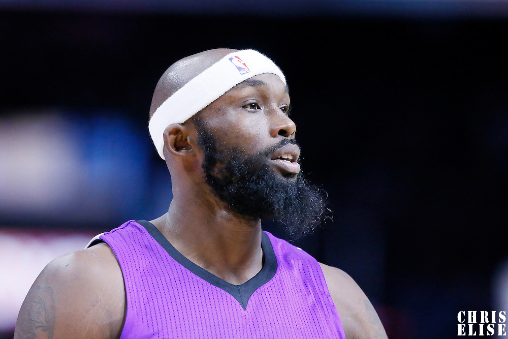 02 November 2014: Sacramento Kings forward Reggie Evans (30) is seen during the Sacramento Kings 98-92 victory over the Los Angeles Clippers, at the Staples Center, Los Angeles, California, USA.