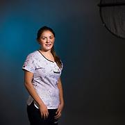 Daniela Luengo, Asociación Chilena de Seguridad ACHS. Santiago de Chile, 05-05-15 (©Alvaro de la Fuente/Triple.cl)