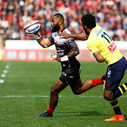 Semi Radradra of Toulon during the Top 14 match between Toulon and Clermont at Felix Mayol Stadium on March 25, 2018 in Toulon, France. (Photo by Guillaume Ruoppolo/Icon Sport)
