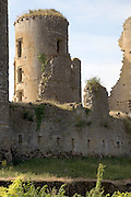 tower Chateau de Lagarde France Languedoc Aude