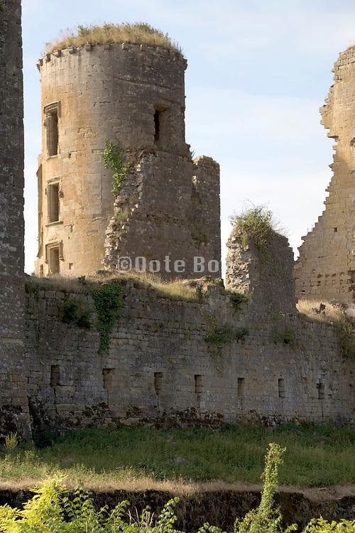 tower Chateau de Lagarde France Languedoc Aude