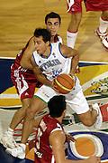 DESCRIZIONE : Madrid Spagna Spain Eurobasket Men 2007 Qualifying Round Italia Turchia Italy Turkey GIOCATORE : Massimo Bulleri <br /> SQUADRA : Nazionale Italia Uomini Italy <br /> EVENTO : Eurobasket Men 2007 Campionati Europei Uomini 2007 <br /> GARA : Italia Turchia Italy Turkey<br />  DATA : 10/09/2007 <br /> CATEGORIA : <br /> SPORT : Pallacanestro <br /> AUTORE : Ciamillo&amp;Castoria/N.Parausic Galleria : Eurobasket Men 2007 <br /> Fotonotizia : Madrid Spagna Spain Eurobasket Men 2007 Qualifying Round Italia Turchia Italy Turkey Predefinita :
