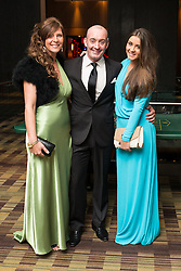 © Licensed to London News Pictures . 09/11/2013 . Manchester , UK . Brooke Vincent from Coronation Street (right) with her mum and stepdad . Hearts and Minds charity ball in aid of children with autism , this evening (9th November 2013) at the Hilton Hotel on Deansgate in Manchester . Photo credit: Joel Goodman/LNP
