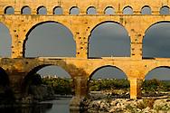 France, Languedoc Roussillon, Gard (30), le pont du Gard