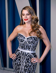 February 9, 2020, Beverly Hills, CA, USA: BEVERLY HILLS, CALIFORNIA - FEBRUARY 9: Sofia Vergara attends the 2020 Vanity Fair Oscar Party at Wallis Annenberg Center for the Performing Arts on February 9, 2020 in Beverly Hills, California. Photo: CraSH/imageSPACE (Credit Image: © Imagespace via ZUMA Wire)