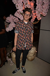 Henry Holland at the Warner Music Group and British GQ Summer Party in partnership with Quintessentially held at Nobu Shoreditch, Willow StreetLondon England. 5 July 2017.<br /> Photo by Dominic O'Neill/SilverHub 0203 174 1069 sales@silverhubmedia.com