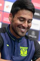 CD Leganes' new player Mauro Dos Santos during his official presentation.  July 27, 2016. (ALTERPHOTOS/Acero)