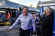 Sunderland Manager Phil Parkinson arrives at Adams Park during the EFL Sky Bet League 1 match between Wycombe Wanderers and Sunderland at Adams Park, High Wycombe, England on 19 October 2019.