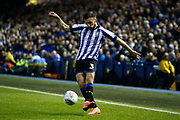 Morgan Fox of Sheffield Wednesday during the EFL Sky Bet Championship match between Sheffield Wednesday and Stoke City at Hillsborough, Sheffield, England on 22 October 2019.