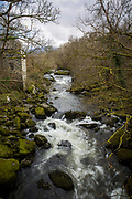 The river Ogwen. Energy Local Bethesda, North Wales. © Andy Aitchison / Ashden
