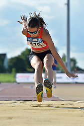 06/08/2017; Garcia Melero, Maria De Los Angeles, F12, ESP at 2017 World Para Athletics Junior Championships, Nottwil, Switzerland
