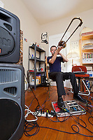 David Dove is a musician, experimental musician, sound enthusiast, and teacher as well as the Founder of Nameless Sound, a program the helps funnel used and donated instruments to children in need.