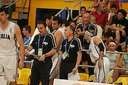 Giochi del Mediterraneo Almeria 2005<br /> azioni di gioco<br /> nella foto: carlo recalcati