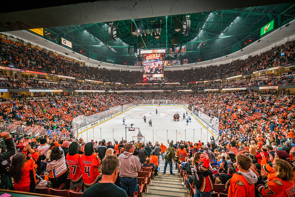 Honda Center, Anaheim Ducks Hockey Stadium, Anaheim, California