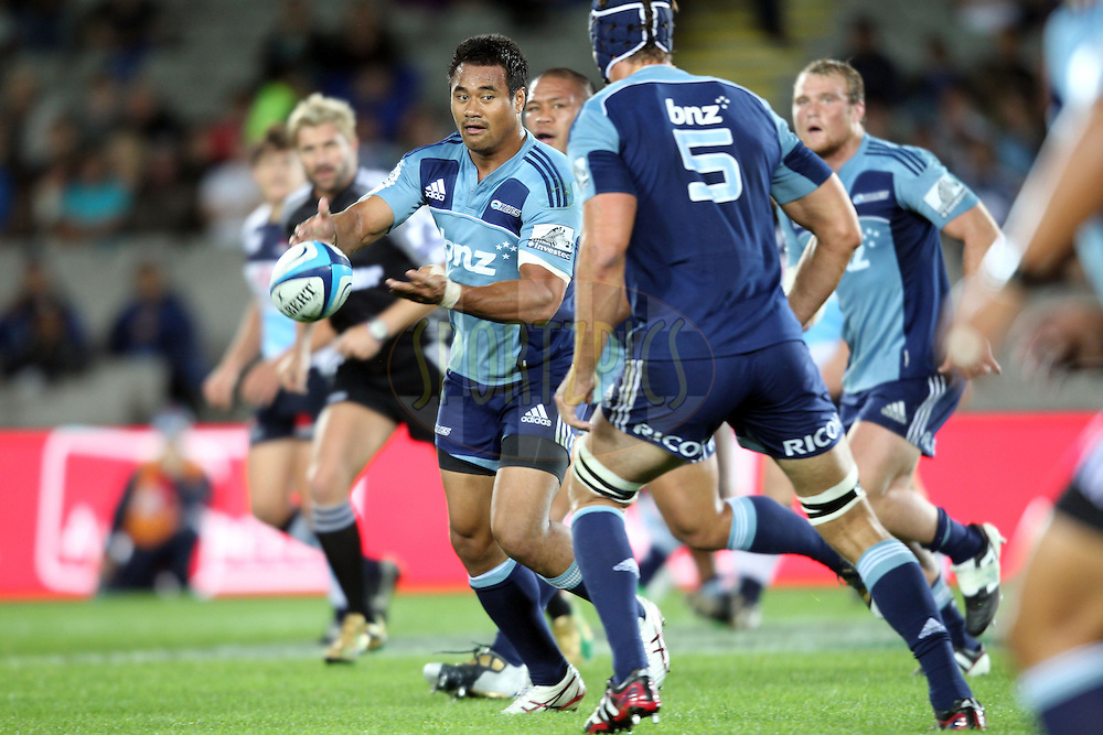 Isaia Toeava. Investec Super Rugby - Blues v Waratahs, Eden Park, Auckland, New Zealand. Saturday 16 April 2011. Photo: Clay Cross / photosport.co.nz