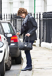 Vicky Pryce, 57, who knew nothing of the affair of her husband, Liberal Democrat Energy Secretary Chris Huhne, Monday February 11, 2013. Photo By Anthony Upton / i-Images