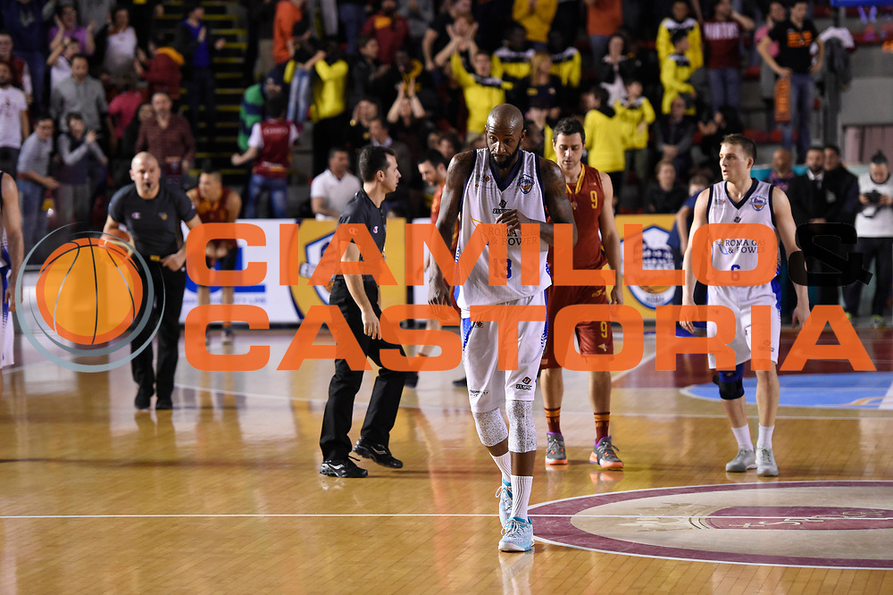 Tony Easley<br /> Roma Gas &amp; Power Roma - Unicusano Roma<br /> Campionato Basket LNP 2016/2017<br /> Roma 12/03/2017<br /> Foto Ciamillo-Castoria