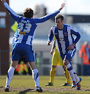 Hartlepool United v Bury 060413