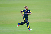 Gareth Berg of Hampshire during the Royal London One Day Cup match between Hampshire County Cricket Club and Somerset County Cricket Club at the Ageas Bowl, Southampton, United Kingdom on 2 August 2016. Photo by David Vokes.