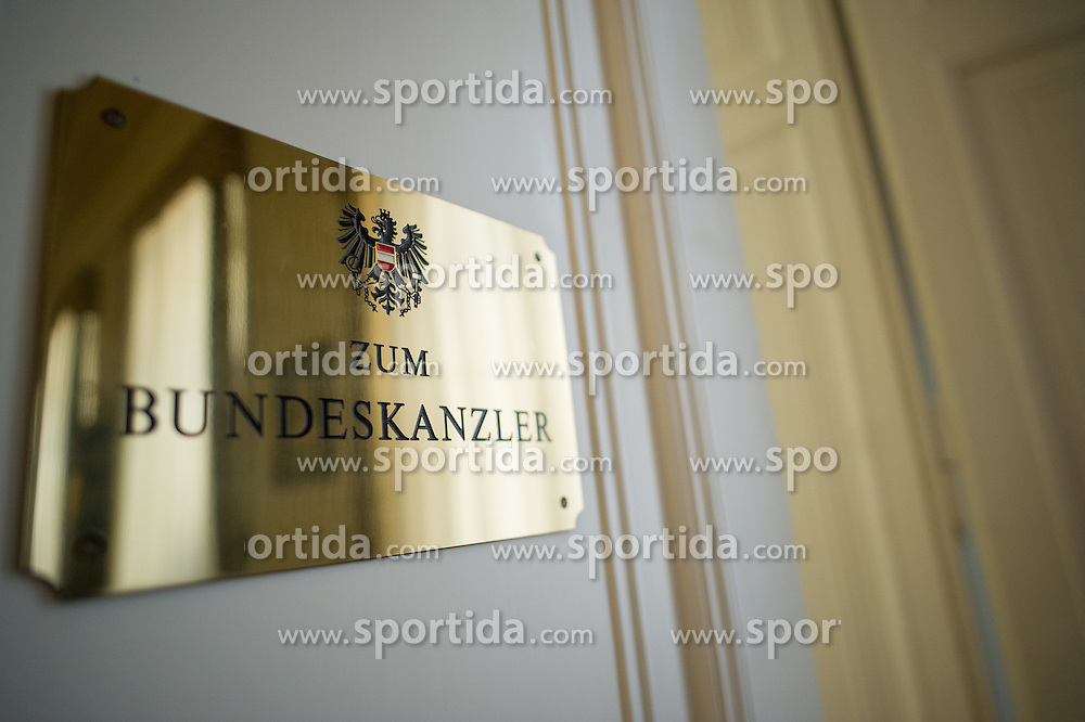 THEMENBILD - Das österreichische Bundeskanzleramt. Aufgenommen am 10.05.2016 in Wien, Österreich // The Austrian Federal Chancellery in Vienna. Austria on 2016/05/10. EXPA Pictures © 2016, PhotoCredit: EXPA/ Michael Gruber