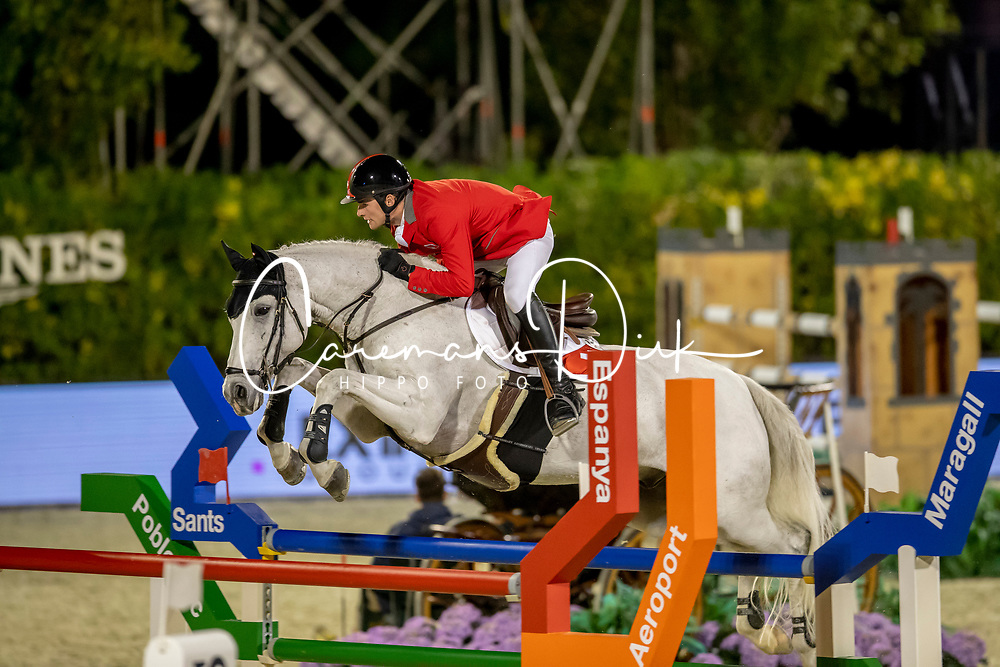 Philippaertsd Nicola, BELBalsiger Bryan, SUI, Clouzot de Lassus<br /> Longines FEI Jumping Nations Cup™ Final<br /> Barcelona 20128<br /> © Hippo Foto - Dirk Caremans<br /> 05/10/2018
