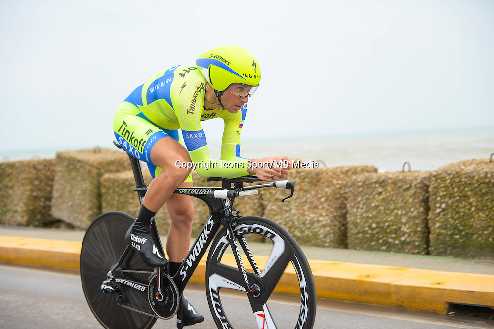 Basso Ivan - Tinkoff Saxo - 17.03.2015 - Tirreno Adriatico - Etape 07 : San Benedetto del Tronto - CLM<br /> Photo : Sirotti / Icon Sport<br />   *** Local Caption ***