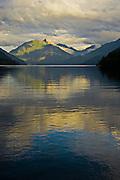 Lake Crescent and Storm King Mtn - Olympic National Park, WA, USA