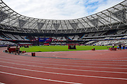General stadium view during the Muller Anniversary Games, Day Two, at the London Stadium, London, England on 22 July 2018. Picture by Martin Cole.