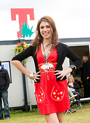 Gabriella Cilmi backstage on Saturday, T in the Park 2008..©2007 Michael Schofield. All Rights Reserved.