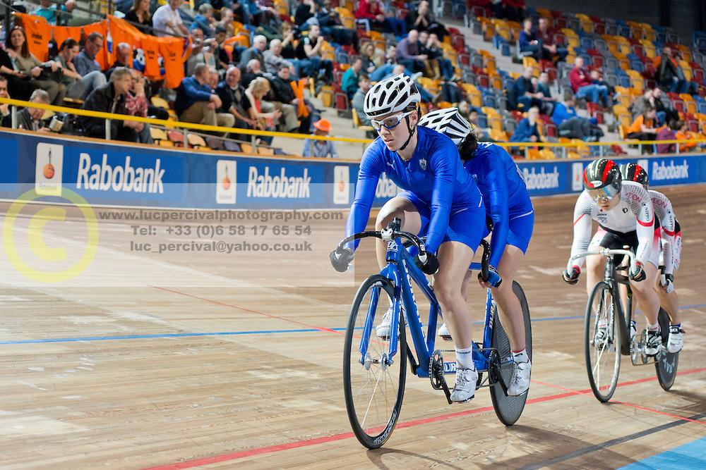 , GRE, JPN, Sprint FInals, 2015 UCI Para-Cycling Track World Championships, Apeldoorn, Netherlands
