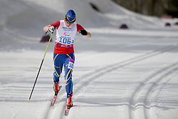 LIASHENKO Liudmyla competing in the Nordic Skiing XC Long Distance at the 2014 Sochi Winter Paralympic Games, Russia