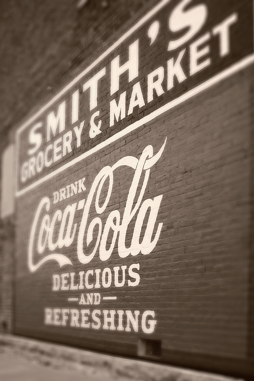 Smith's grocery sign, Missouri