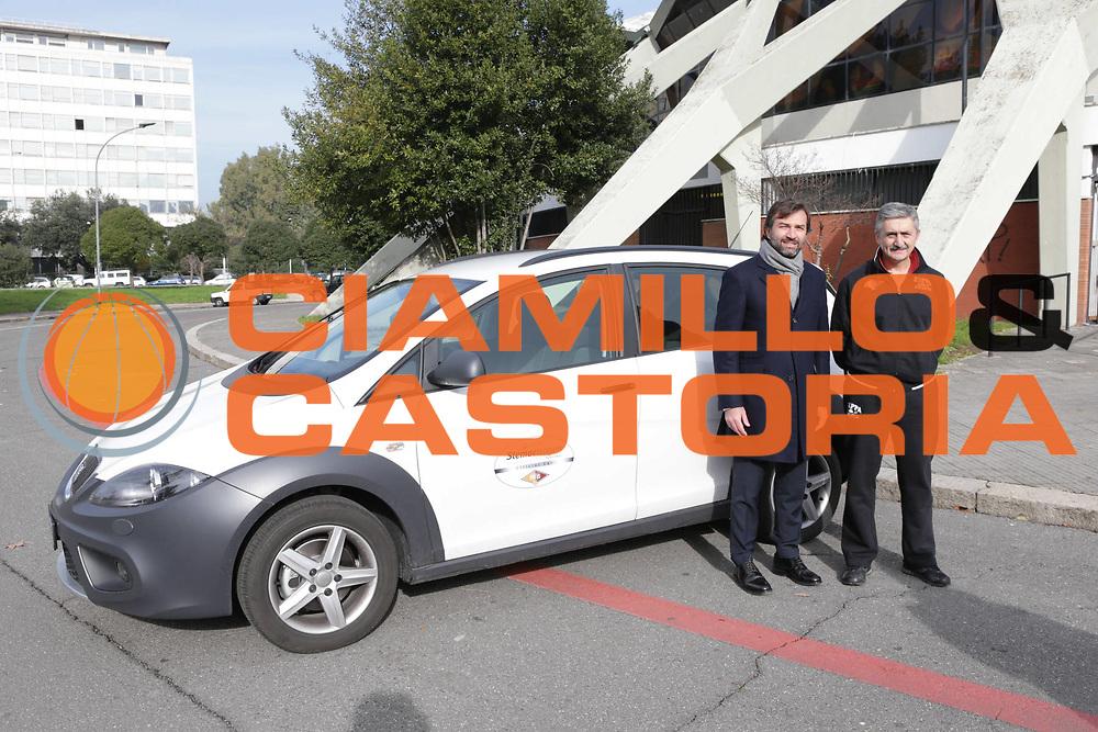 DESCRIZIONE : Roma Lega A conferenza stampa Acea Roma Seat Stemacwagen<br /> GIOCATORE : Maurizio Celon Marco Calvani<br /> SQUADRA : Acea Roma<br /> CATEGORIA : curiosita ritratto<br /> EVENTO : Lega A 2012 2013<br /> GARA : conferenza stampa<br /> DATA : 07/12/2012<br /> SPORT : Pallacanestro<br /> AUTORE : Agenzia Ciamillo-Castoria/M.Simoni<br /> Galleria : Lega A 2012-2013<br /> Fotonotizia :  Roma Lega A conferenza stampa Acea Roma Seat Stemacwagen<br /> Predefinita :
