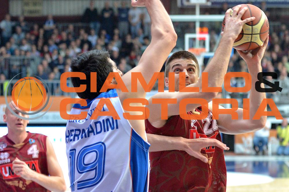 DESCRIZIONE : Cant&ugrave; Lega A 2014-15 Acqua Vitasnella Cant&ugrave; vs  Umana Reyer Venezia<br /> GIOCATORE : Jeff Viggiano<br /> CATEGORIA : Tiro<br /> SQUADRA : Umana Reyer Venezia<br /> EVENTO : Campionato Lega A 2014-2015<br /> GARA : Acqua Vitasnella Cant&ugrave; vs Umana Reyer Venezia<br /> DATA : 21/12/2014<br /> SPORT : Pallacanestro <br /> AUTORE : Agenzia Ciamillo-Castoria/I.Mancini<br /> Galleria : Lega Basket A 2014-2015 <br /> Fotonotizia : Cant&ugrave; Lega A 2014-15 Acqua Vitasnella Cant&ugrave; vs Umana Reyer Venezia<br /> Predefinita :