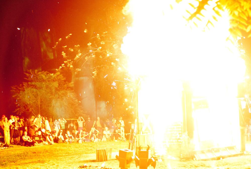 Burning the Effigy