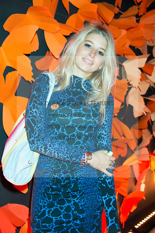 PHOEBE-LETTICE THOMPSON at the 3rd anniversary party of Sushisamba at the Heron Tower, 110 Bishopsgate, City of London on 10th November 2015.