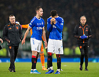 Football - 2019 Betfred Scottish League Cup Final - Celtic vs. Rangers<br /> <br /> Connor Goldson of Rangers is dejected at full time, Hampden Park Glasgow.<br /> <br /> COLORSPORT/BRUCE WHITE