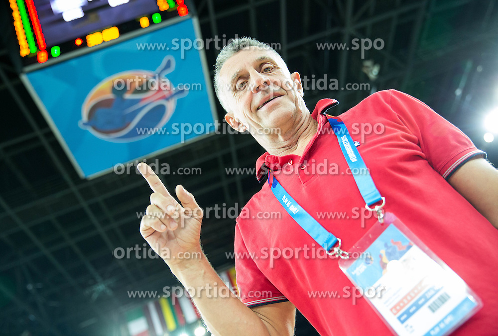 Boris Zrinski at Day 2 in Group C of FIBA Europe Eurobasket 2015, on September 6, 2015, in Arena Zagreb, Croatia. Photo by Vid Ponikvar / Sportida