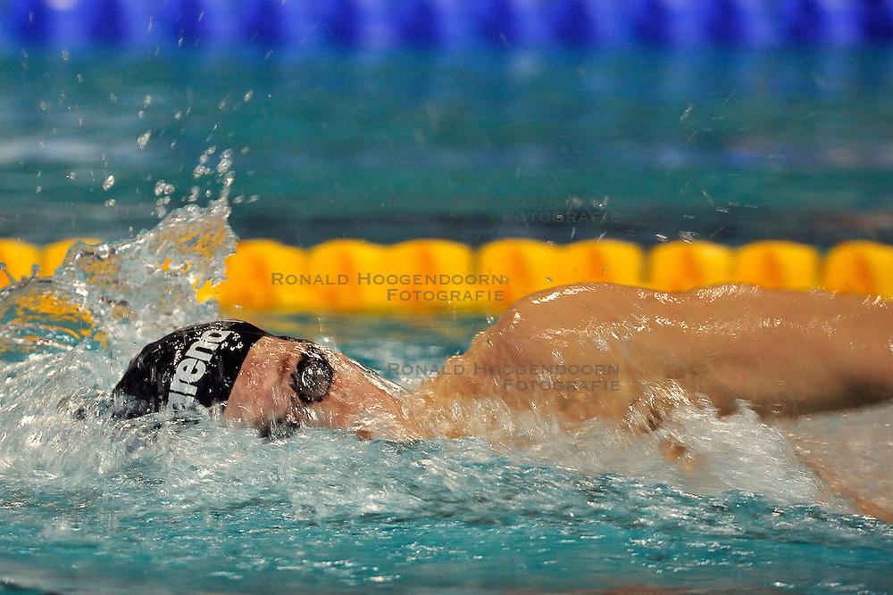 07-04-2011 ZWEMMEN: SWIMCUP: EINDHOVEN<br /> Arjen van der Meulen<br /> &copy;2011 Ronald Hoogendoorn Photography