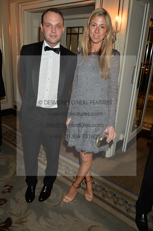 The HON.EDWARD & SOPHIA SACKVILLE at the 26th Cartier Racing Awards held at The Dorchester, Park Lane, London on 8th November 2016.